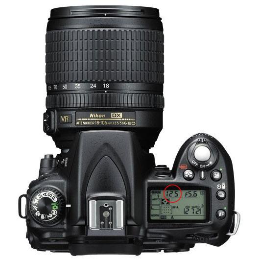 Nikon-D90-Top
